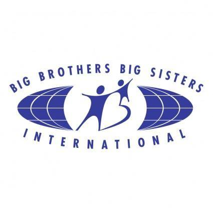 free vector Big brothers big sisters international