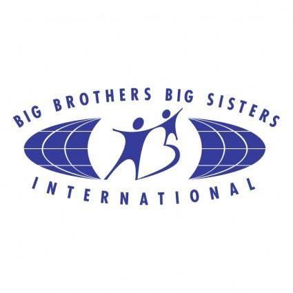 free vector Big brothers big sisters international