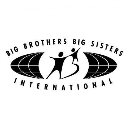 free vector Big brothers big sisters international 0