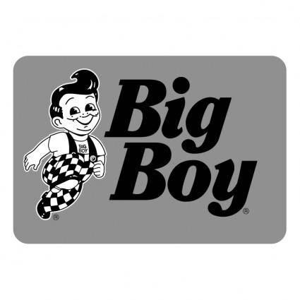 free vector Big boy 0