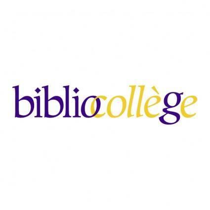Bibliocollege