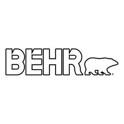 free vector Behr 0