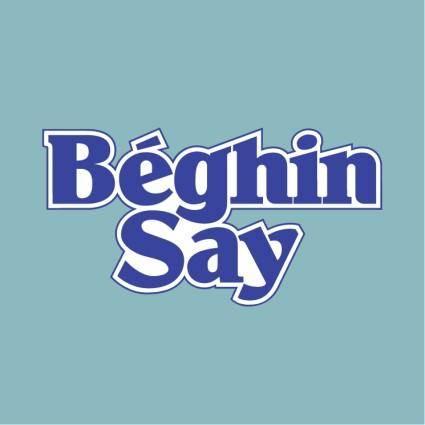 Beghin say 0