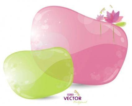 Fine bubbles 02 vector