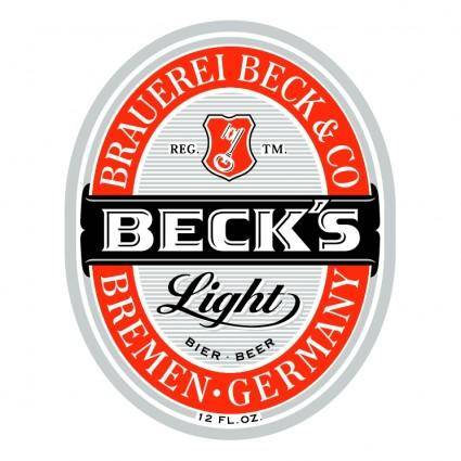free vector Becks 3
