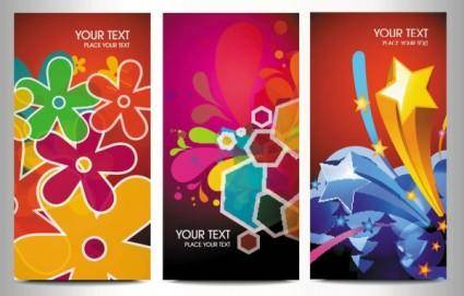 free vector Elements of the trend brilliant 01 vector