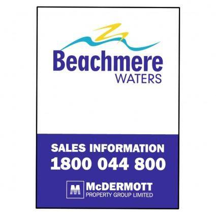 free vector Beachmere waters