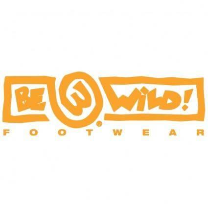 free vector Be wild footwear