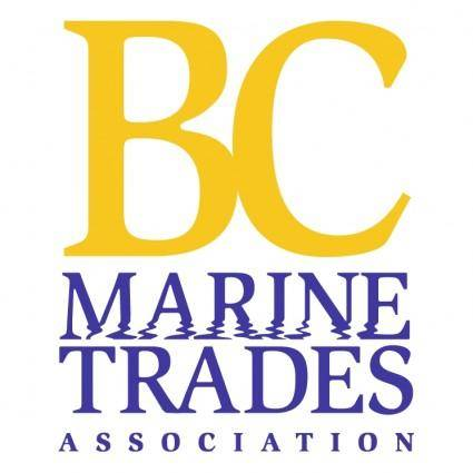 free vector Bc marine trades association 2