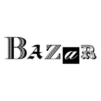 free vector Bazar