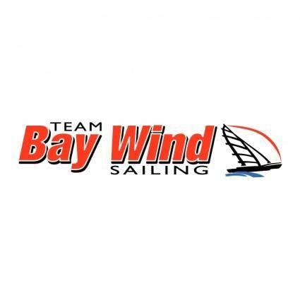 free vector Bay wind sailing