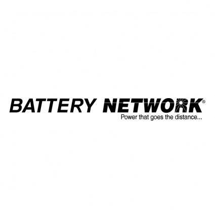free vector Battery network