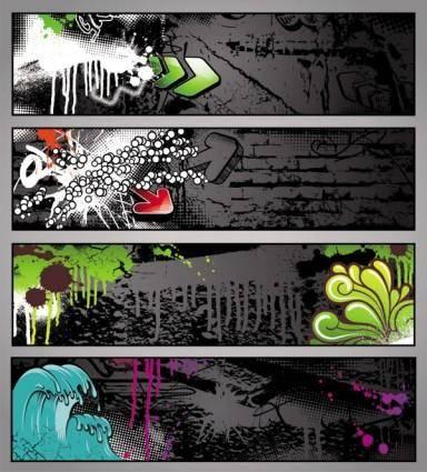 Trend of graffiti vector