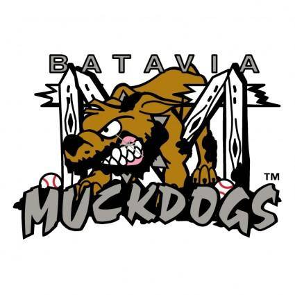 free vector Batavia muckdogs 0