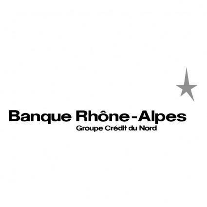 free vector Banque rhone alpes