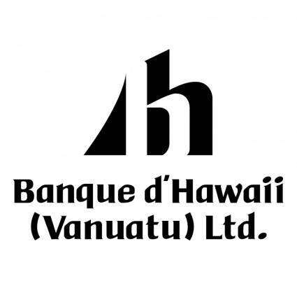free vector Banque dhawaii