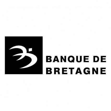 free vector Banque de bretagne 0