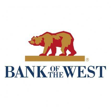 free vector Bank of the west