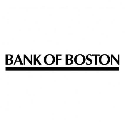 free vector Bank of boston