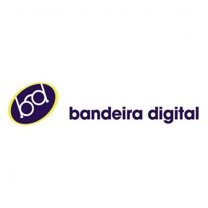 free vector Bandeira digital