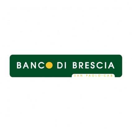 free vector Banco di brescia