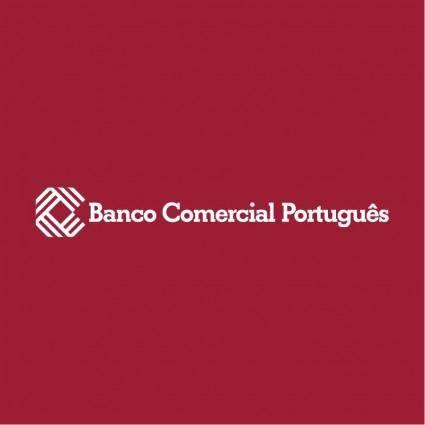 free vector Banco comercial portugues 1