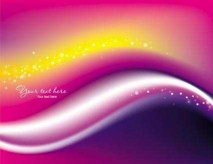 Beautiful rainbow symphony 04 vector