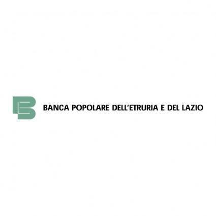 Banca popolare delletruria e del lazio 0