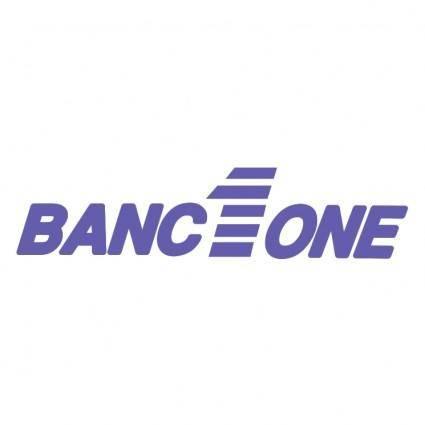 Banc one