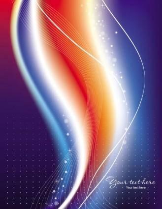 Beautiful rainbow symphony 05 vector