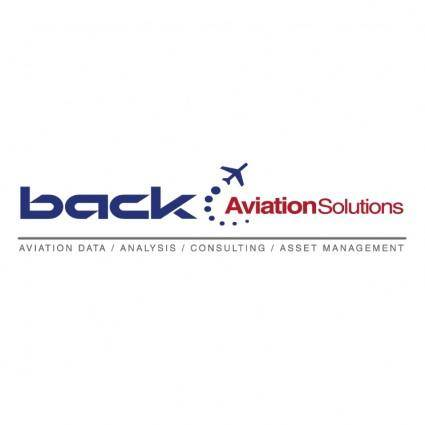 Back aviation solutions