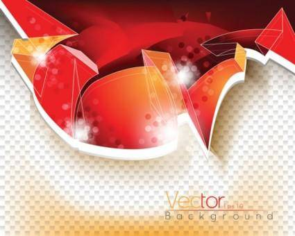 free vector The trend of dynamic flow line gorgeous 02 vector