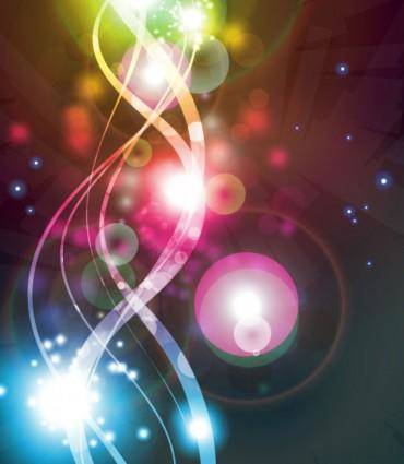 free vector Gorgeous bright starlight effects 02 vector