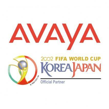 free vector Avaya 2002 world cup sponsor