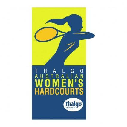Australian womens hardcourts