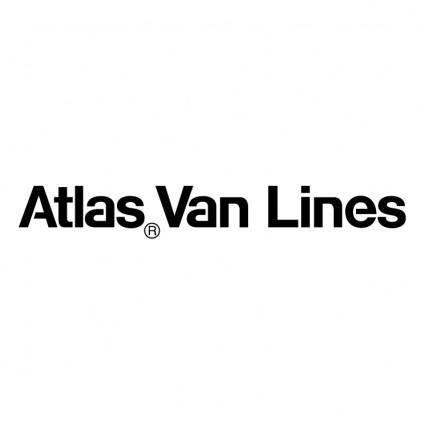 free vector Atlas van lines