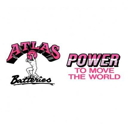 free vector Atlas batteries