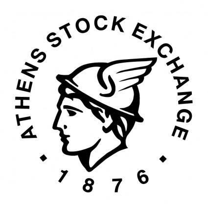 free vector Athens stock exchange