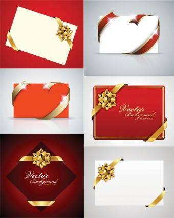 free vector Beautiful holiday card vector