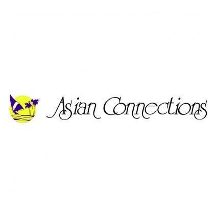 free vector Asian connection