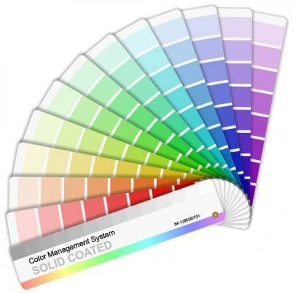 free vector Vector color card paper