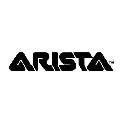 free vector Arista records 1