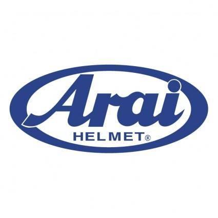 free vector Arai helmet