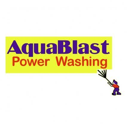 Aquablast power washing