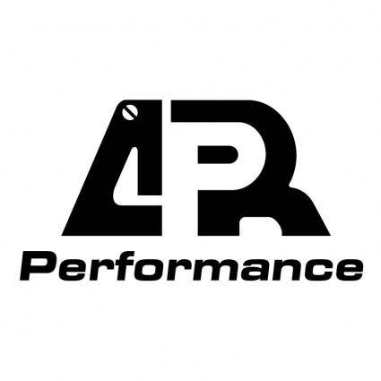 free vector Apr performance