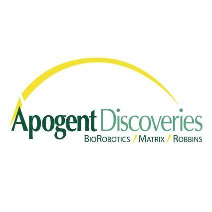 Apogent discoveries