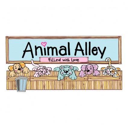 free vector Animal alley