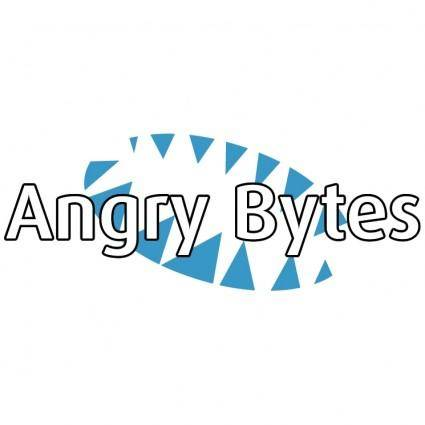 free vector Angry bytes