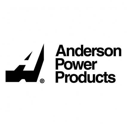 free vector Anderson power products