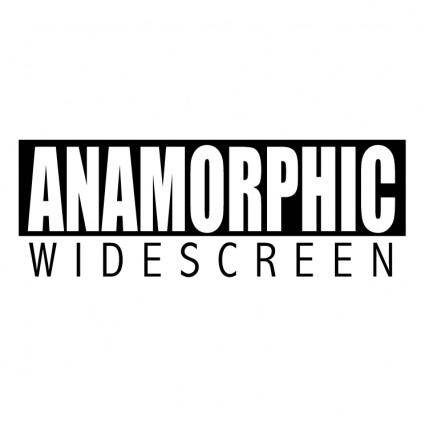 free vector Anamorphic widescreen